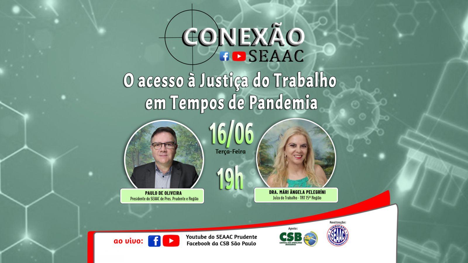 JUÍZA DO TRABALHO PARTICIPOU DO CONEXÃO SEAAC