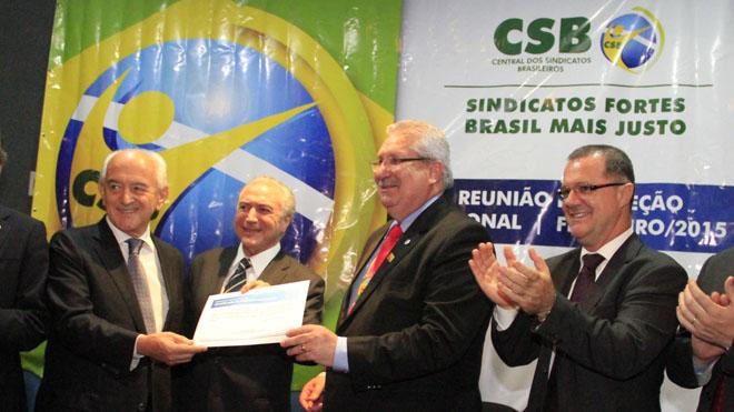 CSB - CENTRAL QUE O SEAAC É FILIADO É RECONHECIDA