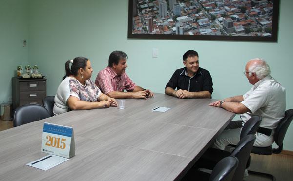 NOVA PRESIDÊNCIA DA CÂMARA DE PRUDENTE VISITA O SEAAC