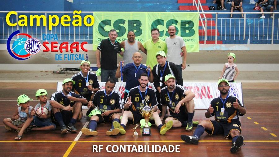 RF CONTABILIDADE É CAMPEÃO DA COPA SEAAC