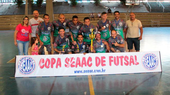 ESC. CAMPOS/BCANO CONQUISTA COPA SEAAC DE FUTSAL