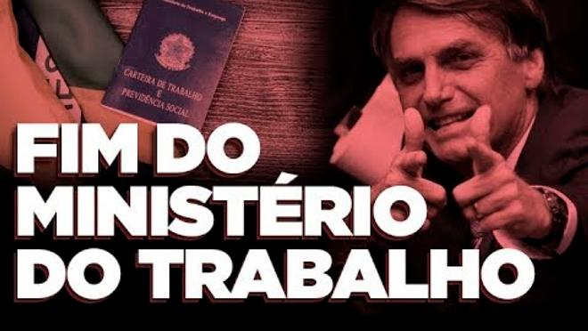 MINISTÉRIO DO TRABALHO EXTINTO POR NOVO GOVERNO