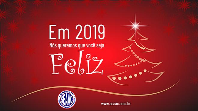 FELIZ NATAL E UM LINDO 2019