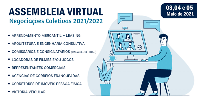 ASSEMBEIA VIRTUAL – PARTICIPE