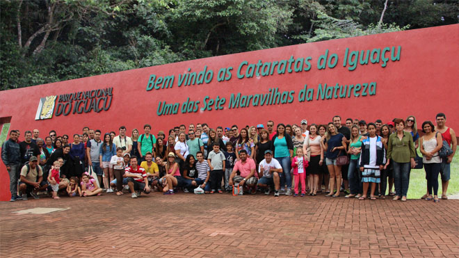 ASSOCIADOS DO SEAAC VISITAM AS CATARATAS DO IGUAÇU