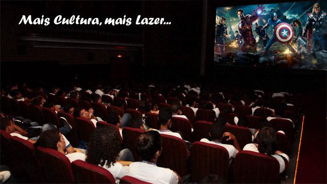 CINEMA DE GRAÇA PARA ASSOCIADOS