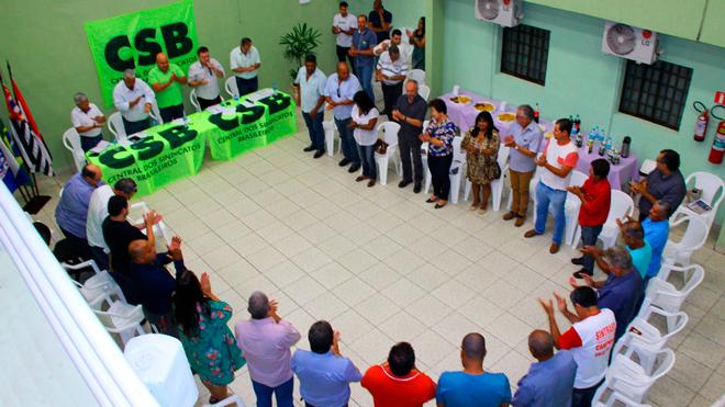 REGIONAL CSB PRUDENTE DEBATE REFORMA TRABALHISTA